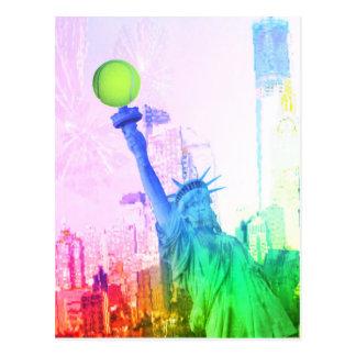 NY Freiheitsstatue Postkarte