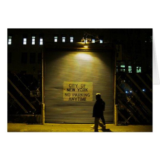 NYC kein Parktor-12x18 Karte