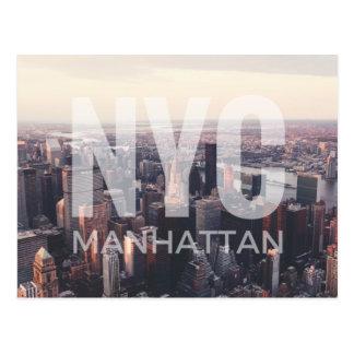 NYC Manhattan Postkarte