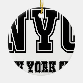 NYC New York City Keramik Ornament
