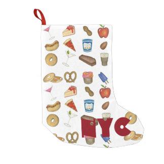NYC New York City NahrungsmittelweihnachtsStrumpf Kleiner Weihnachtsstrumpf