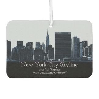 NYC Skyline-Luft Freshner Autolufterfrischer