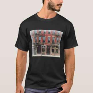 NYC Vintages Stadt-Szenen-Shirt T-Shirt