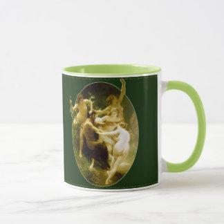 Nymphen und Satyr-Tasse Tasse