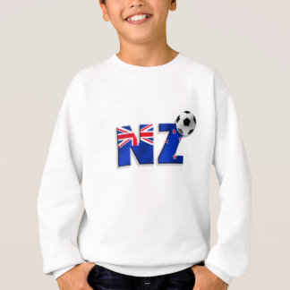 NZ Fußball-Geschenkflagge von Neuseeland-Art Sweatshirt