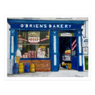O´Brien ` s Bäckerei Postkarte