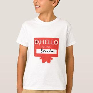 O hallo, mein Name ist Brandon T-Shirt