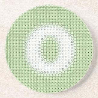 O-Monogramm Bierdeckel