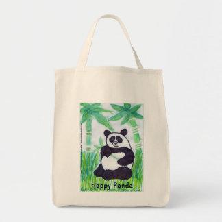 O.O. Glücklicher Panda-Bio Tasche