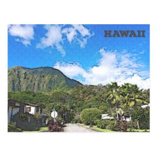 Oahu, Hawaii Postkarte
