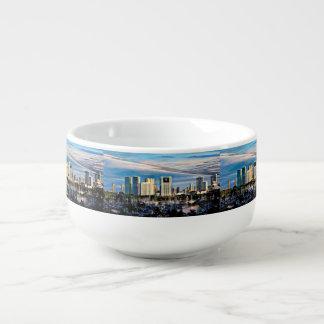 OahuSkyline/Jachthafen-Suppen-Tasse Große Suppentasse