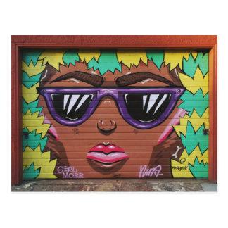 Oakland: Mädchen-Pöbel Postkarte