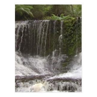 Oasen-Wasserfälle in Tasmanien südlich von Postkarte