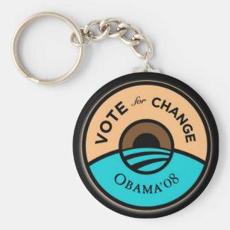 """""""OBAMA'08"""" Keychain Standard Runder Schlüsselanhänger"""