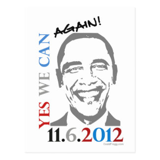 OBAMA 2012 ja können wir wieder politische Postkar
