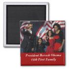 Obama-Andenken-Quadrat-Magnet Quadratischer Magnet