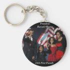 Obama-Andenken rundes Keychain Schlüsselanhänger