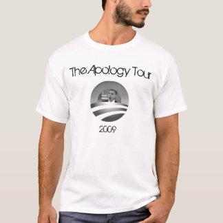 Obama der Entschuldigungs-Ausflug-T - Shirt
