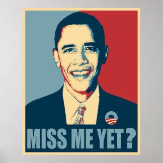 Obama-Fräulein Me Yet? Poster