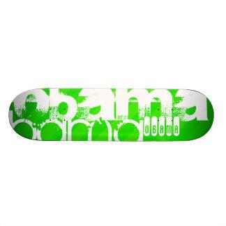 Obama; Grüne Neonstreifen Individuelle Skateboards