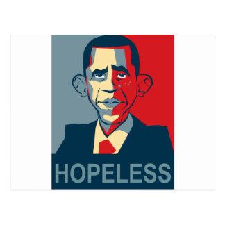 Obama hoffnungslos postkarten