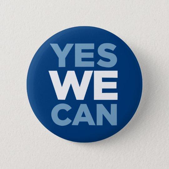 Obama - ja können wir runder button 5,1 cm
