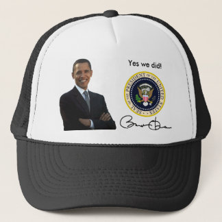 Obama ja taten wir - Baseballmütze Truckerkappe