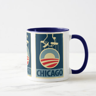 Obama-Logo - Chicago: OHP Tasse