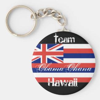 Obama Ohana, Team Hawaii Standard Runder Schlüsselanhänger