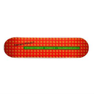 Obama-Politik Personalisiertes Skateboarddeck