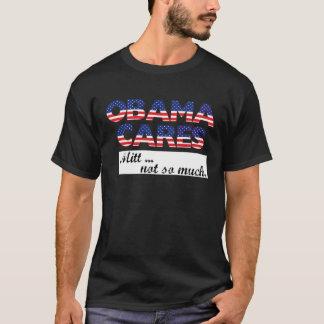 Obama-Sorgfalt, Mitt… nicht soviel. schwarze T T-Shirt
