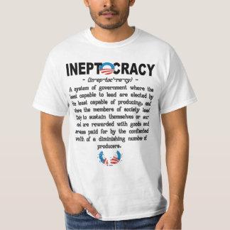 Obama-Verwaltung Ineptocracy T - Shirt