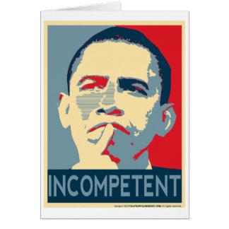 Obama - wenn zuerst Sie nicht… folgen Sie Karte