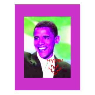 ObamaHype Postkarte