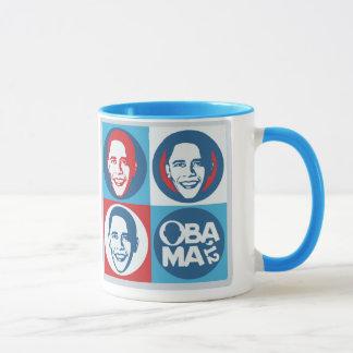 ObamaPop-Kunst-Tasse 2012 Tasse