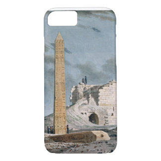 Obelisk von Kleopatra (w/c auf Papier) iPhone 8/7 Hülle