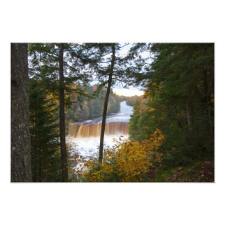 Obere Tahquemenon Fälle, Herbst, Michigan Fotodruck