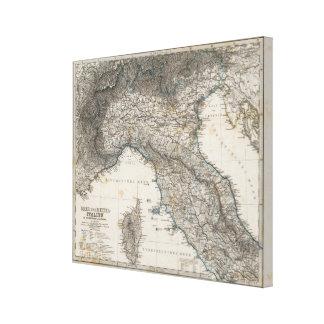 Oberes und Mittelitalien Leinwand Drucke