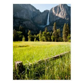 Oberes Yosemite Falls Postkarte