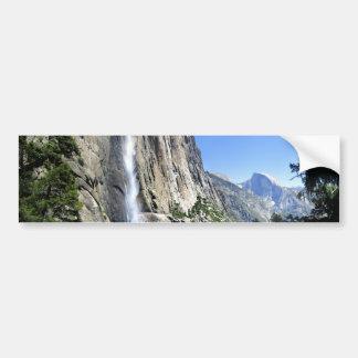 Oberes Yosemite Falls - Yosemite Autoaufkleber