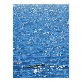 Oberfläche des Meeres Postkarte