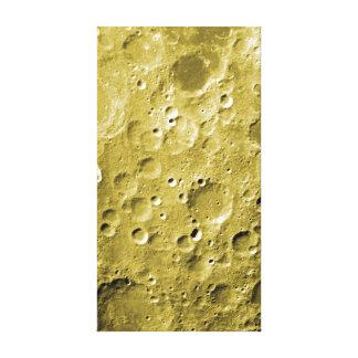 Oberfläche des Mondes Leinwanddruck