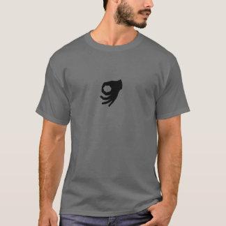 Oberseite - heißen Sie unten Sie Blick-Shirt T-Shirt