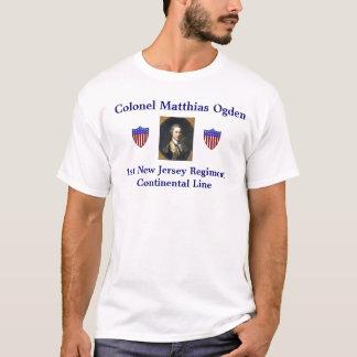 Oberst Matthias Ogden T-Shirt
