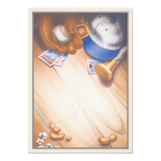 Oberste Spielklasse © 12,7 X 17,8 Cm Einladungskarte