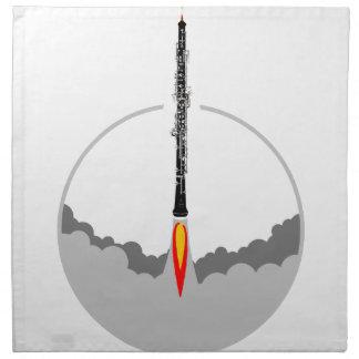 oboe Rakete Serviette