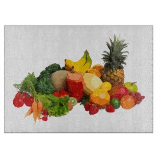 Obst- und GemüseGlasschneiden-Brett