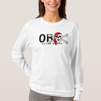 OBX äußerer Banken NC-Totenkopf mit gekreuzter T-Shirt