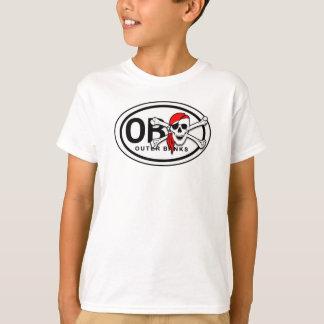 OBX Schädel-und Knochen-Piraten-KinderT - Shirt
