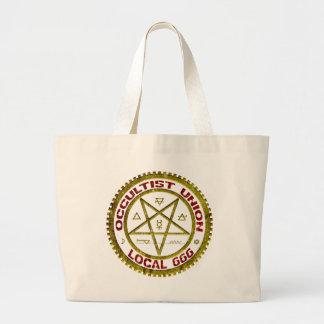 Occultist-Gewerkschafts-Einheimisches 666     0019 Jumbo Stoffbeutel